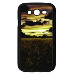 Dark Meadow Landscape  Samsung Galaxy Grand DUOS I9082 Case (Black)