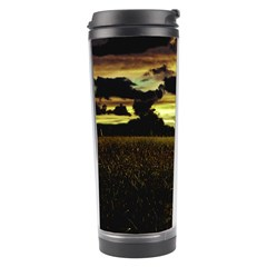 Dark Meadow Landscape  Travel Tumbler
