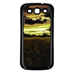 Dark Meadow Landscape  Samsung Galaxy S3 Back Case (black)