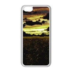 Dark Meadow Landscape  Apple Iphone 5c Seamless Case (white)