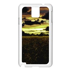 Dark Meadow Landscape  Samsung Galaxy Note 3 N9005 Case (White)