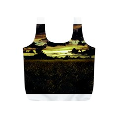 Dark Meadow Landscape  Reusable Bag (s)