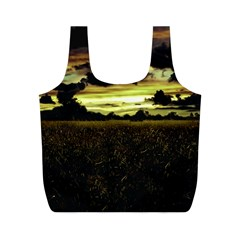 Dark Meadow Landscape  Reusable Bag (M)
