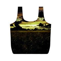 Dark Meadow Landscape  Reusable Bag (m)