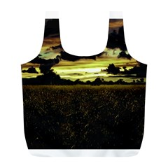 Dark Meadow Landscape  Reusable Bag (L)