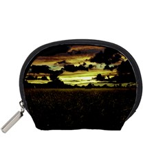 Dark Meadow Landscape  Accessories Pouch (Small)