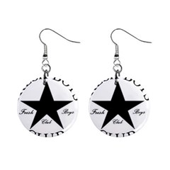 Star Power Fresh Mini Button Earrings