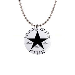 Star Power Fresh Button Necklace