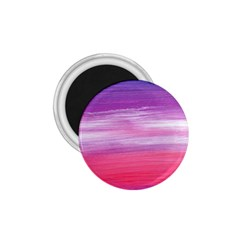 Abstract In Pink & Purple 1.75  Button Magnet