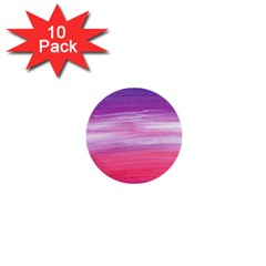 Abstract In Pink & Purple 1  Mini Button (10 pack)