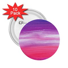 Abstract In Pink & Purple 2.25  Button (10 pack)