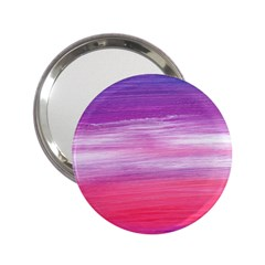 Abstract In Pink & Purple Handbag Mirror (2.25 )