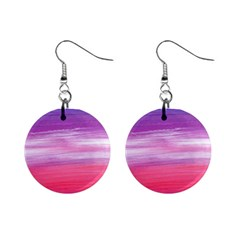Abstract In Pink & Purple Mini Button Earrings