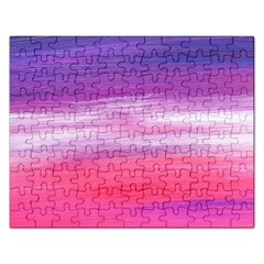 Abstract In Pink & Purple Jigsaw Puzzle (Rectangle)