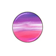 Abstract In Pink & Purple Golf Ball Marker (for Hat Clip)