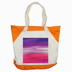 Abstract In Pink & Purple Accent Tote Bag