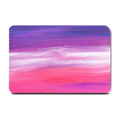 Abstract In Pink & Purple Small Door Mat