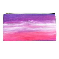 Abstract In Pink & Purple Pencil Case