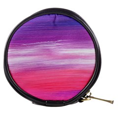 Abstract In Pink & Purple Mini Makeup Case