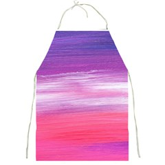 Abstract In Pink & Purple Apron