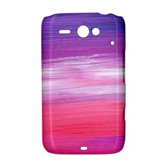 Abstract In Pink & Purple HTC ChaCha / HTC Status Hardshell Case