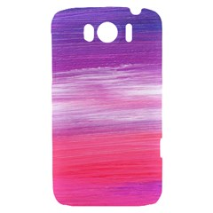 Abstract In Pink & Purple HTC Sensation XL Hardshell Case