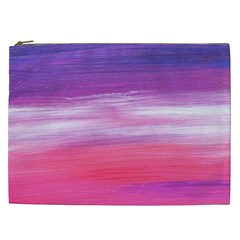 Abstract In Pink & Purple Cosmetic Bag (xxl)