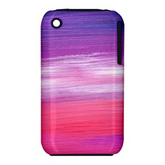 Abstract In Pink & Purple Apple iPhone 3G/3GS Hardshell Case (PC+Silicone)