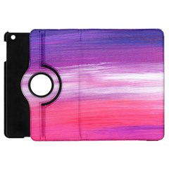 Abstract In Pink & Purple Apple iPad Mini Flip 360 Case