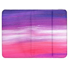 Abstract In Pink & Purple Samsung Galaxy Tab 7  P1000 Flip Case