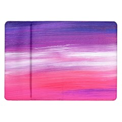 Abstract In Pink & Purple Samsung Galaxy Tab 10.1  P7500 Flip Case