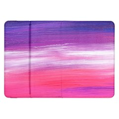 Abstract In Pink & Purple Samsung Galaxy Tab 8.9  P7300 Flip Case