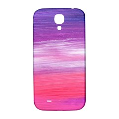 Abstract In Pink & Purple Samsung Galaxy S4 I9500/I9505  Hardshell Back Case
