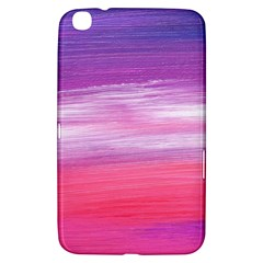 Abstract In Pink & Purple Samsung Galaxy Tab 3 (8 ) T3100 Hardshell Case