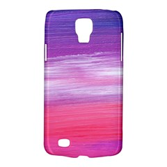 Abstract In Pink & Purple Samsung Galaxy S4 Active (I9295) Hardshell Case