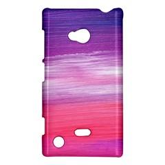 Abstract In Pink & Purple Nokia Lumia 720 Hardshell Case