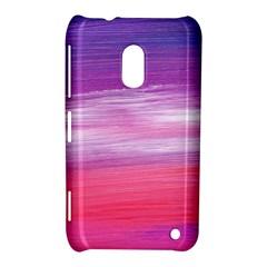 Abstract In Pink & Purple Nokia Lumia 620 Hardshell Case