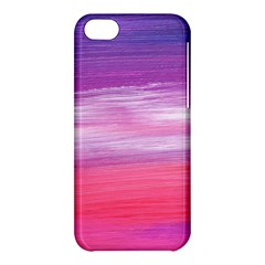 Abstract In Pink & Purple Apple iPhone 5C Hardshell Case