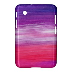 Abstract In Pink & Purple Samsung Galaxy Tab 2 (7 ) P3100 Hardshell Case