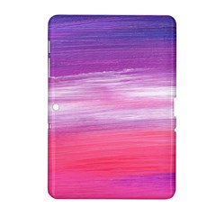 Abstract In Pink & Purple Samsung Galaxy Tab 2 (10.1 ) P5100 Hardshell Case