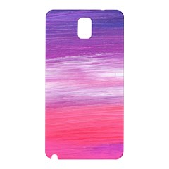 Abstract In Pink & Purple Samsung Galaxy Note 3 N9005 Hardshell Back Case