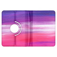 Abstract In Pink & Purple Kindle Fire HDX 7  Flip 360 Case