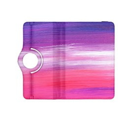 Abstract In Pink & Purple Kindle Fire HDX 8.9  Flip 360 Case