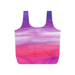 Abstract In Pink & Purple Reusable Bag (S)