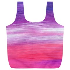 Abstract In Pink & Purple Reusable Bag (XL)