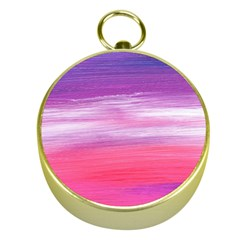 Abstract In Pink & Purple Gold Compass