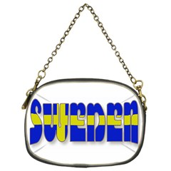 Flag Spells Sweden Chain Purse (One Side)