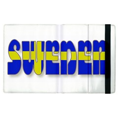 Flag Spells Sweden Apple iPad 3/4 Flip Case