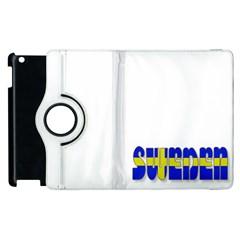 Flag Spells Sweden Apple iPad 3/4 Flip 360 Case