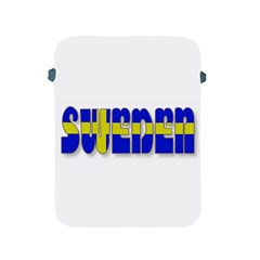 Flag Spells Sweden Apple Ipad Protective Sleeve